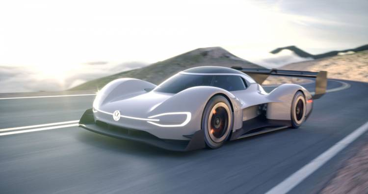 Weltpremiere des Volkswagen I.D. R Pikes Peak