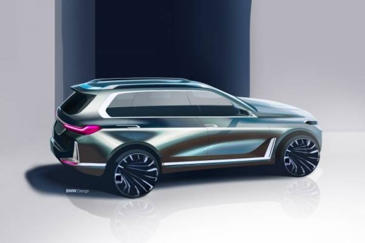 Das BMW Concept X7 iPerformance