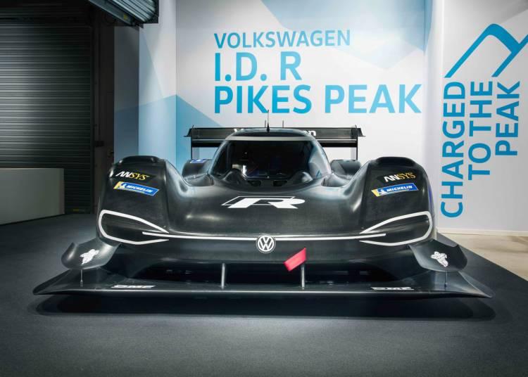 Der Volkswagen I.D. R Pikes Peak